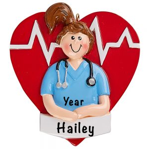 Nurse Personalized Ornament
