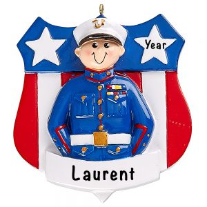 Marines Military Personalized Ornament