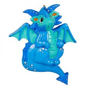 Dragon Personalized Ornament Blank