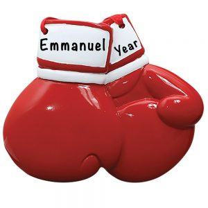 Boxing Gloves Personalized Ornament