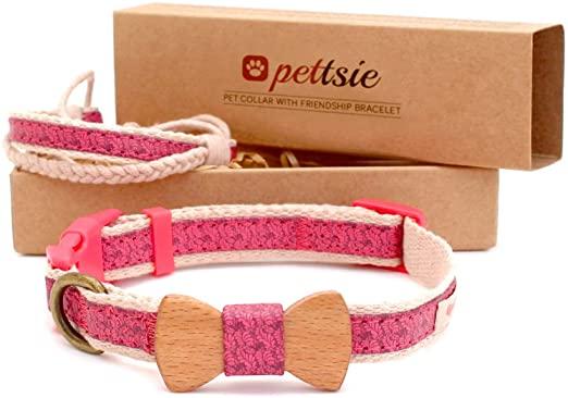 Matching Dog Collar & Owner Friendship Bracelet