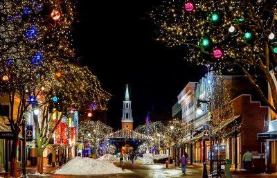 Christmas Decorations Street