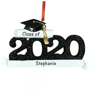 Graduation 2020 Personalized Christmas Ornament