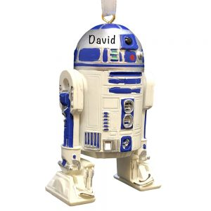 R2D2 Star Wars Personalized Christmas Ornament