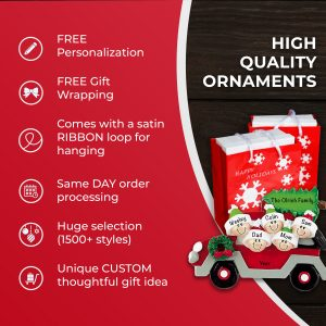 Best Selection of High Quality Personalized Christmas Ornaments Gifts