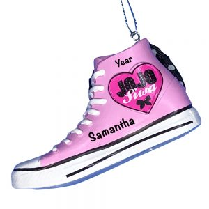 JoJo Siwa High Top-2 Personalized Christmas Ornament