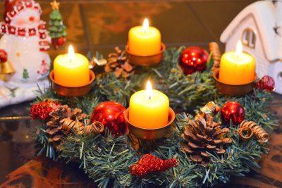 Christmas Garland Holiday Traditions MyOrnament