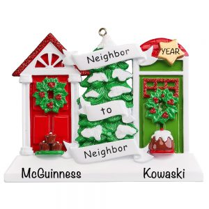 Neighbor Personalized Christmas Ornament